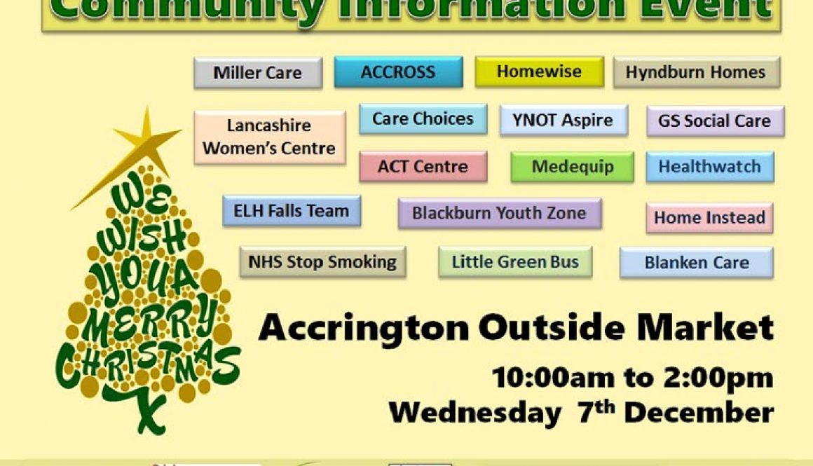 Community Information Event